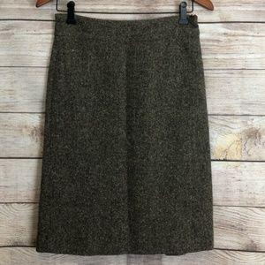 [GAP] Brown Tweed Skirt